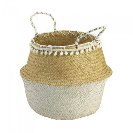 Seagrass Accent - SEAGRASS BASKET WITH TASSELS
