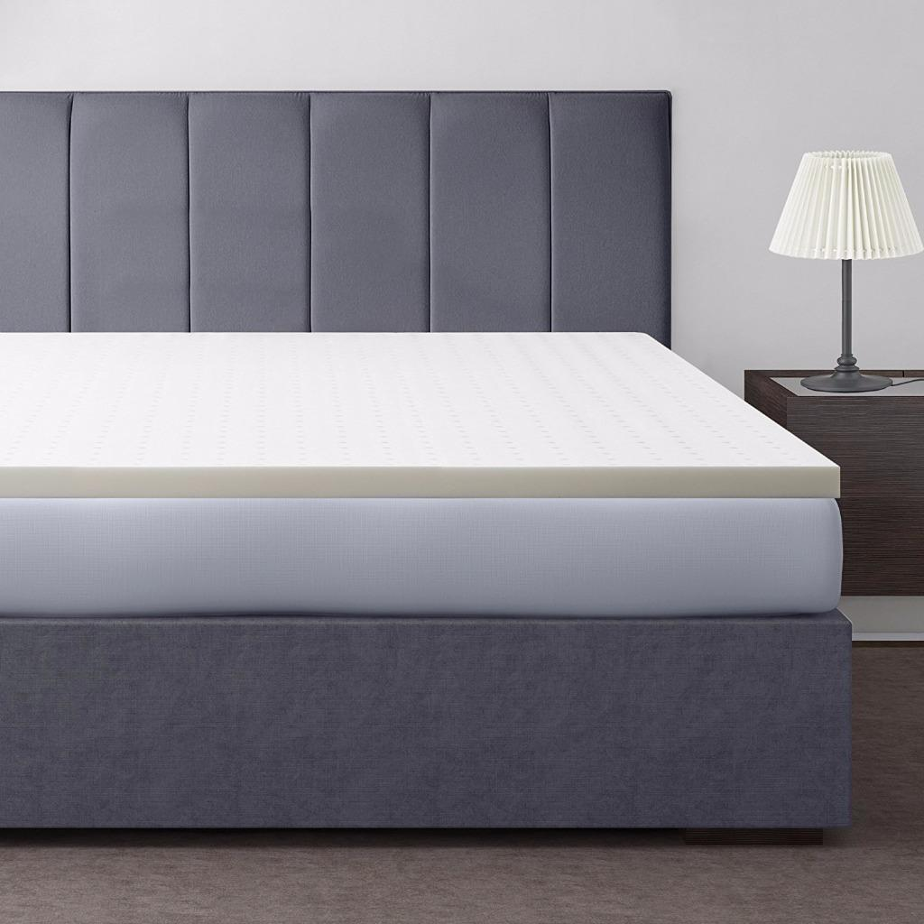 Best Price Mattress 2 Inch Memory Foam Mattress Topper, Multiple Sizes by Best Price Mattress