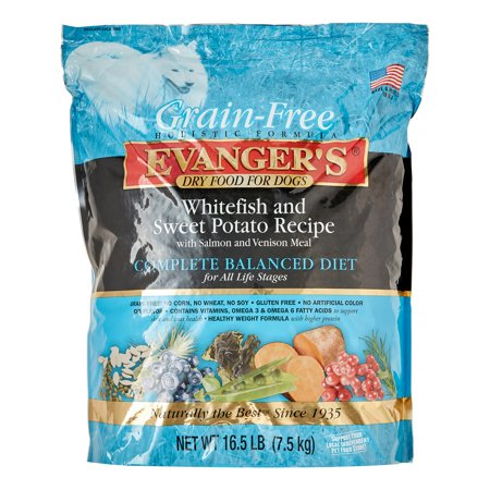 Evanger s White Fish Sweet Potato All Stages Dry Dog Food 16 5 Lb