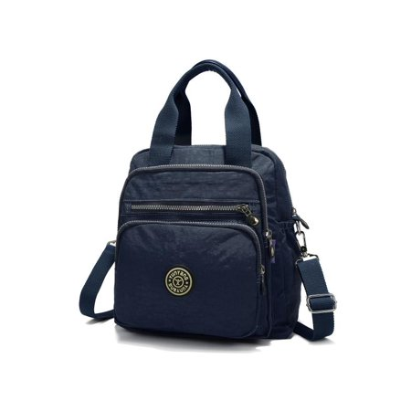 026976fe150 JOSEKO Fashion Shoulder Bag Women s Small Multipurpose Nylon Backpack Purse  Travel Daypack Schoolbag for Girls - Walmart.com