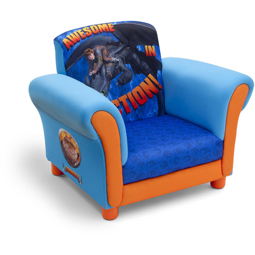 Delta Children's Products How to Train Your Dragon Upholstered Chair