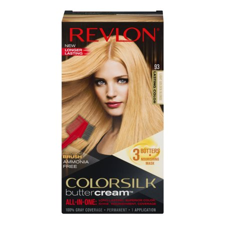 Colorsilk butter cream hair color light golden blonde 93, 1.0 - 18 Ct Two Colour