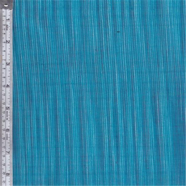 Textile Creations WR-051 Winding Ridge Fabric, Blue And Turquoise, 15 yd.