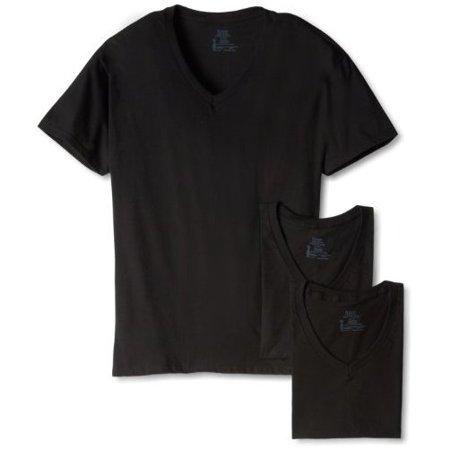 Hanes Mens Ultimate ComfortSoft V-Neck Undershirt, 3-Pack