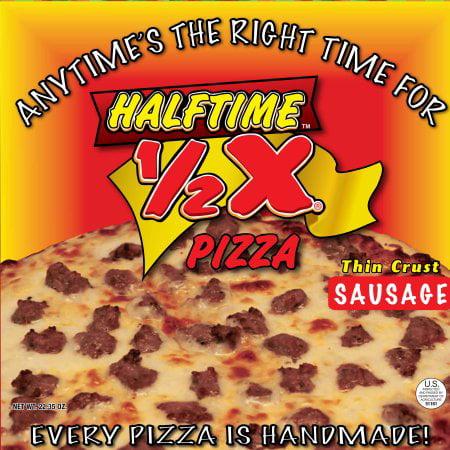 Halftime Thin Crust Sausage Pizza, 22.35 oz