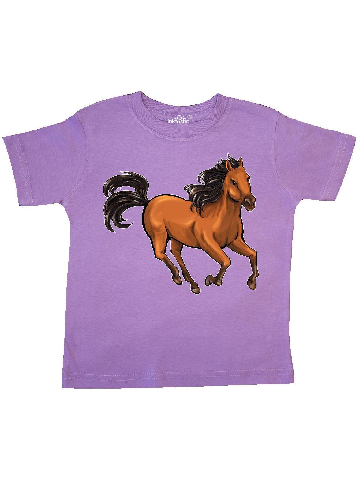 Wild mustang horse galloping Toddler T-Shirt