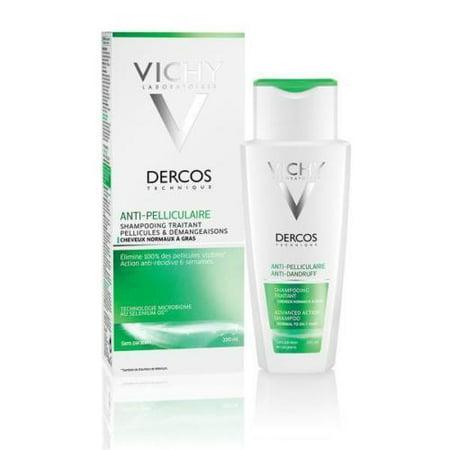 Vichy Dercos Anti Dandruff Shampoo - Normal/Oily Hair - 200ml