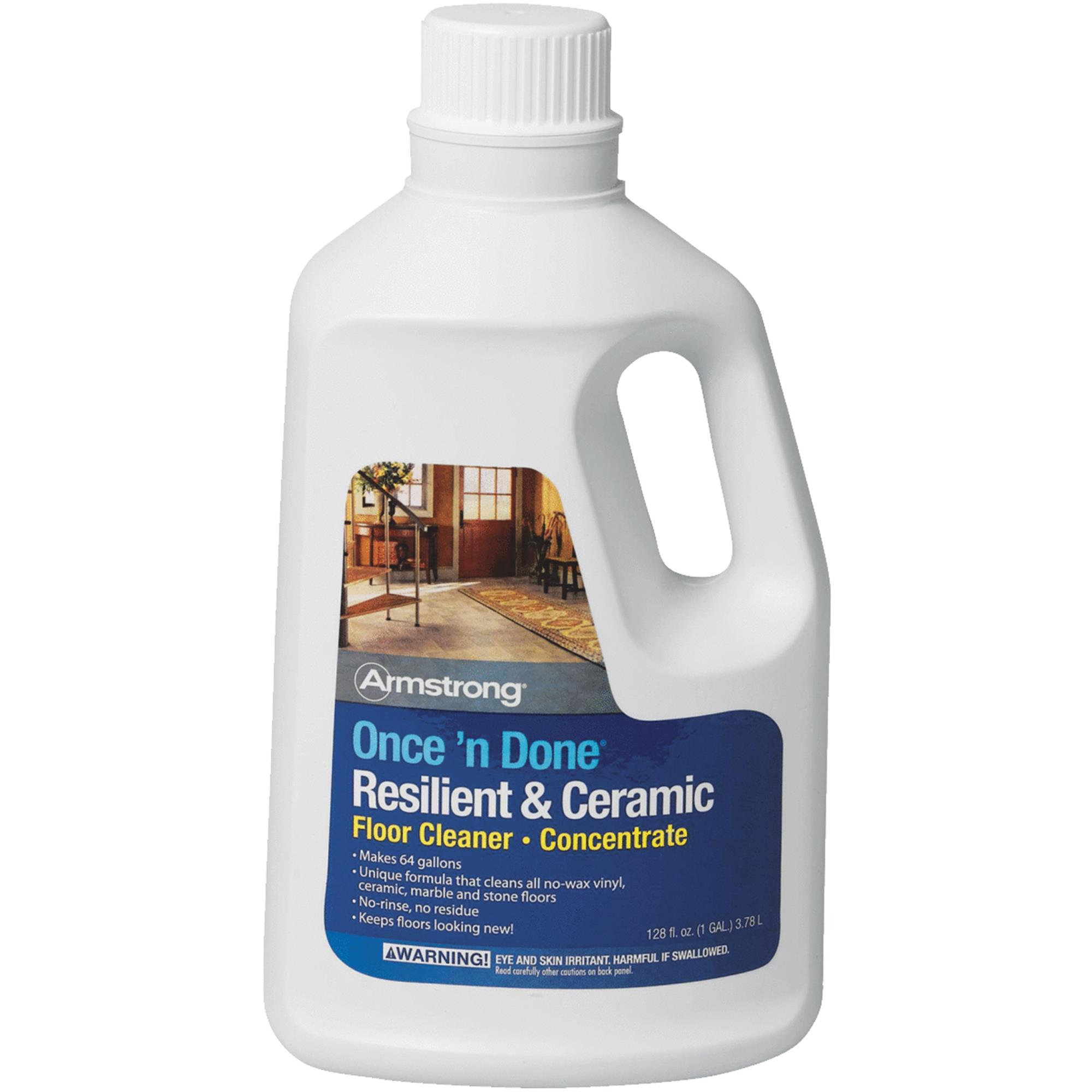 Armstrong ceramic tile floor cleaner tile designs armstrong once n done resilient ceramic floor cleaner dailygadgetfo Choice Image