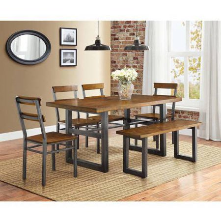Better homes and gardens mercer 6 piece dining set - Better homes and gardens dining set ...