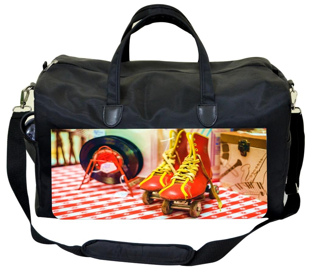 Retro Skates Design Jacks Outlet TM Skating Bag by Jacks Outlet