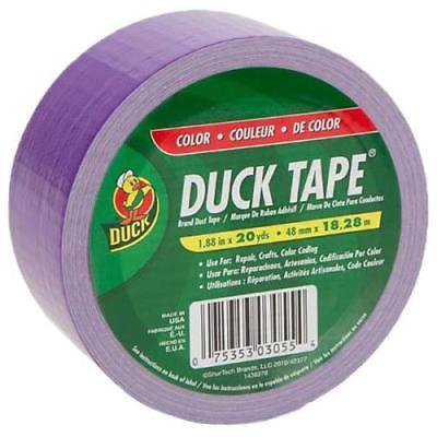 "Duck Tape 1.88"" x 20 yd Purple Duct Tape"