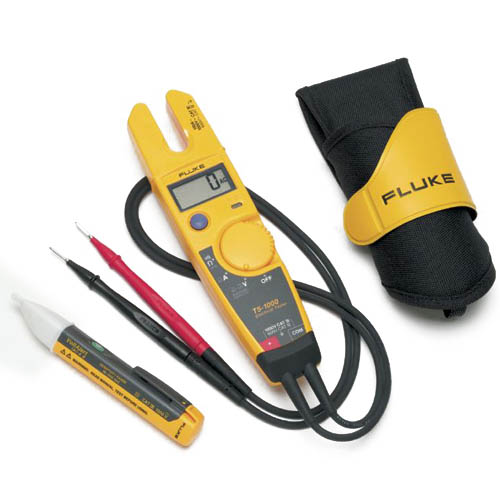 Fluke T5-H5-1AC KIT/US, 1000V Voltage, Continuity and Current Electrical Tester with H5 and 1AC