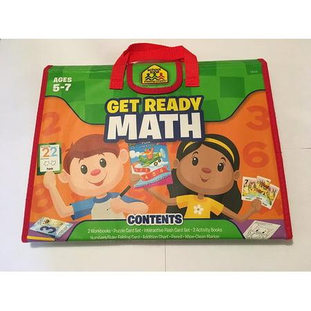 School Zone Get Ready Math Ages 5-7