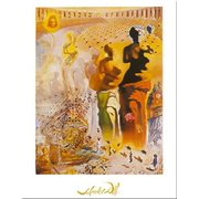Le Torero Hallucinogene by Salvador Dali 12x9.5 Art Print Poster