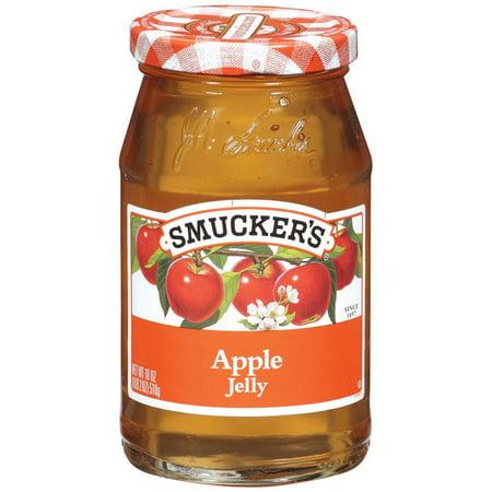 Smucker's, Apple Jelly, 18oz Glass Jar (Pack of 2)