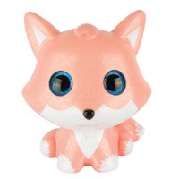 Grin Studios Amazing Squishee Friends XL! Fox - For boys, girls, kids and adults | Stress relief | Party Favor | Gift