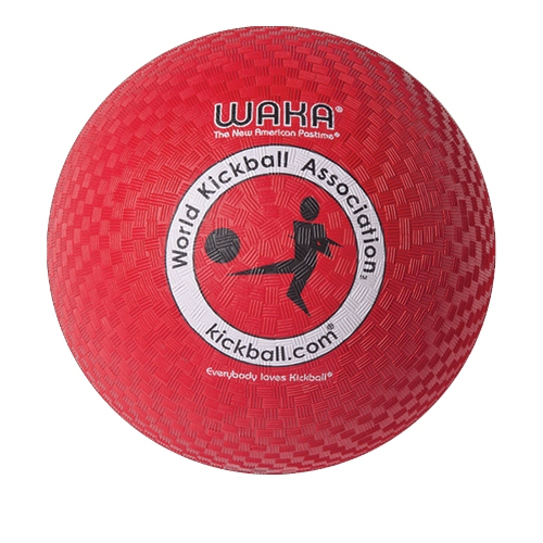 "Mikasa Waka Official Adult Kick Ball, 10"", Red"