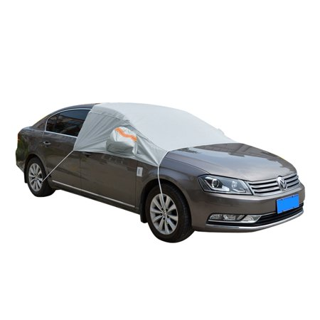 Silver Tone Car Snow Cover Windshield Frost Protection Sun Shade