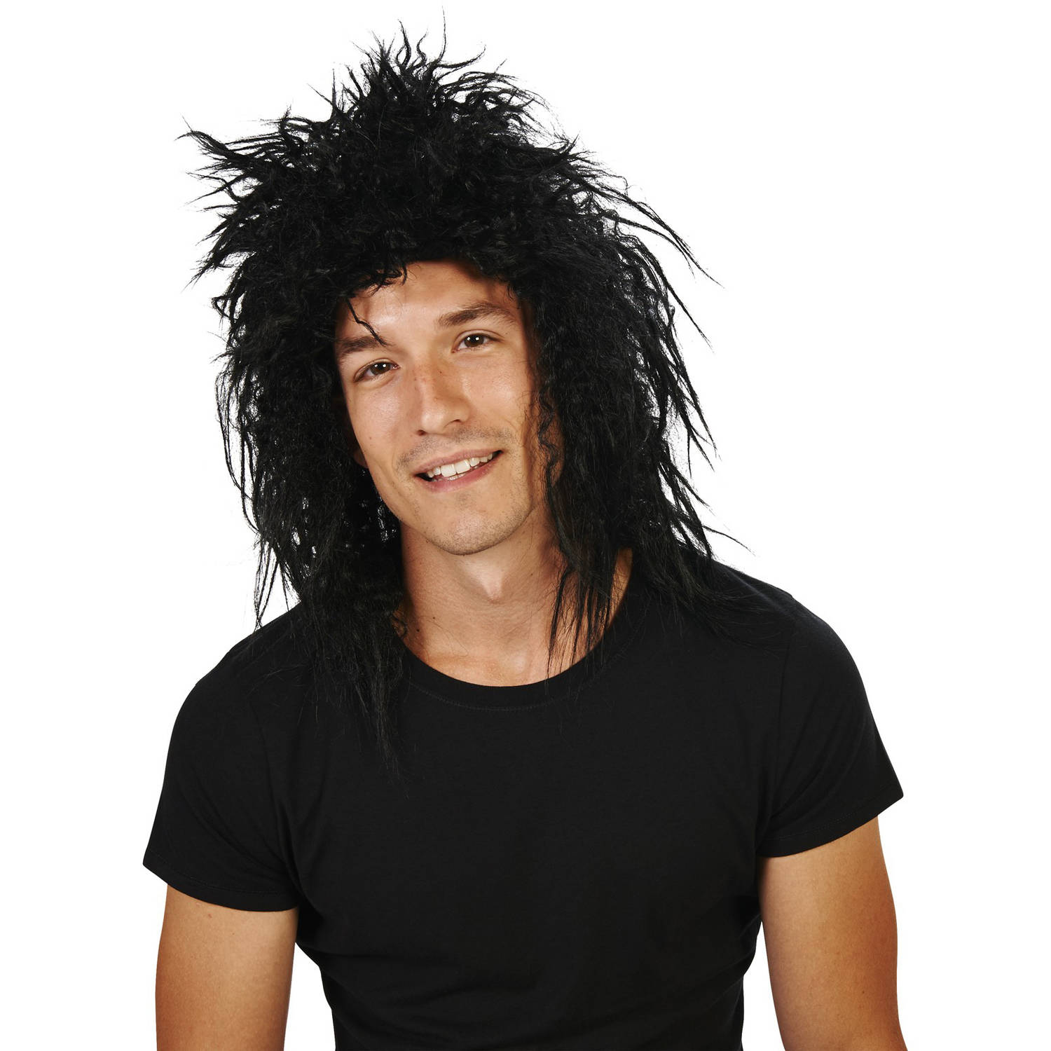 80s Jett Rocker Adult Wig Halloween Accessory