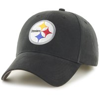 Product Image Youth Fan Favorite Black Pittsburgh Steelers Team Basic Adjustable  Hat - OSFA 5aa8d34716af