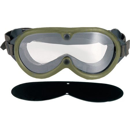 Olive Drab - Military GI Style Sun-Wind-Dust (Sun Protection Goggles)