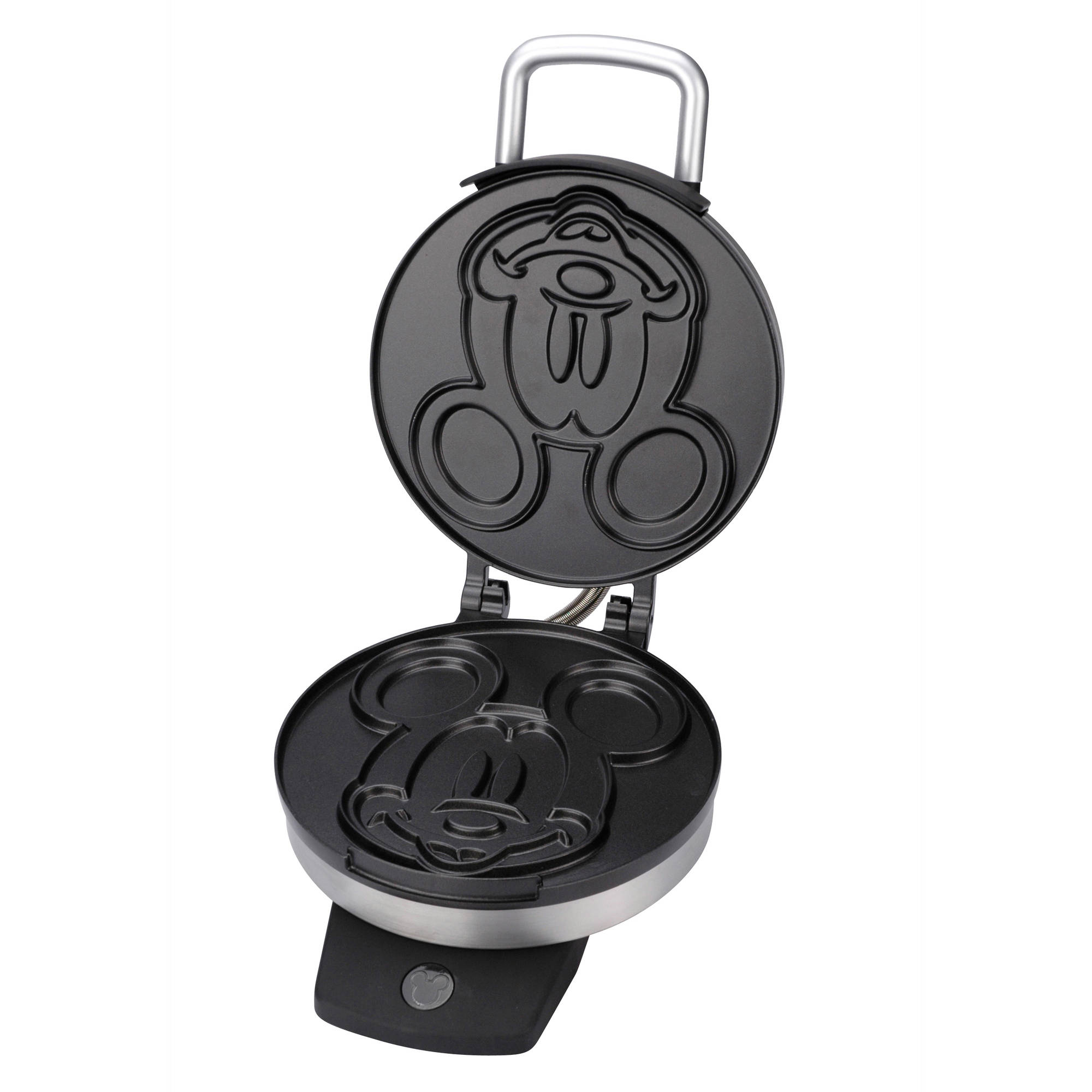 Disney Classic Mickey Belgian Waffle Maker, Stainless Steel