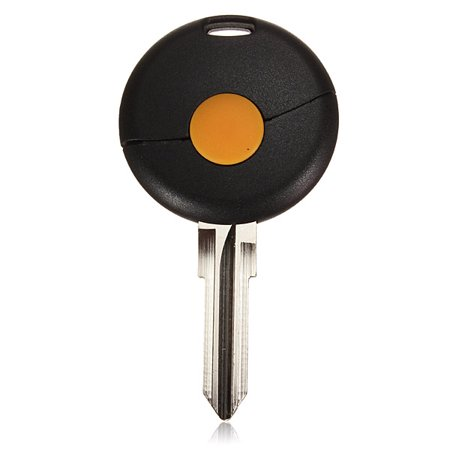 1 Button Remote Key Fob Shell Case Blade For Mercedes-Benz Smart