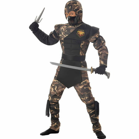 Ninja Special Ops Child Halloween Costume - Girl Ninja Costume For Halloween