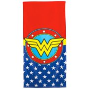 Wonder Woman 111005 60 x 30 in. Wonder Woman Symbol Beach Towel