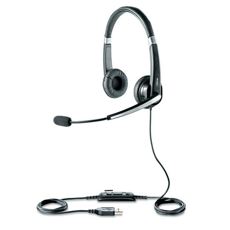 Jabra Uc Voice 550 Binaural Over The Head Corded Headset
