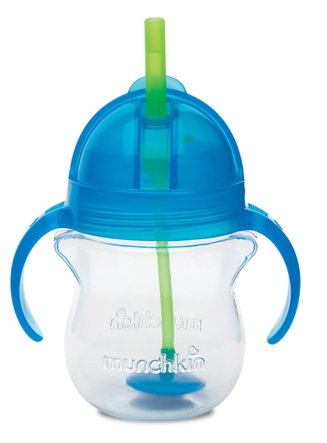 Munchkin Click Lock 7 Ounce Weighted Flexi-Straw Cup Blue by Munchkin