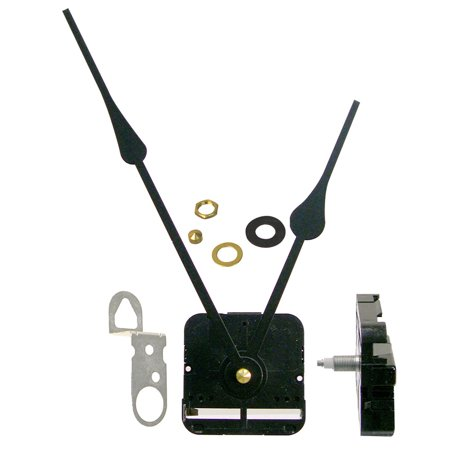 Teaching Hands Clock (Takane Hi Torque Clock Movement and Hands Fits a Clock Dial Up To 14 Inches In Dia.)