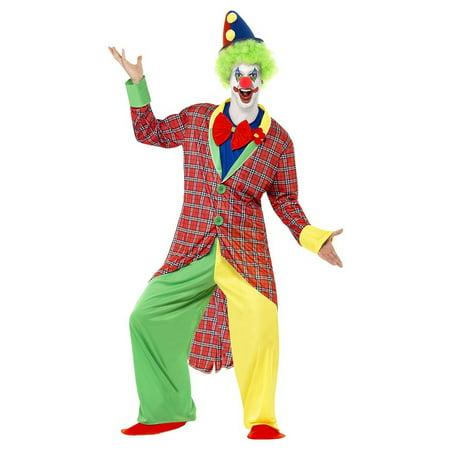 La Circus Deluxe Clown Adult Costume - Medium - Clown Costume Adults