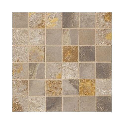Marazzi Jade 2'' x 2'' Porcelain Mosaic Tile in Taupe