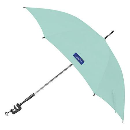 "Caribbean Joe 48"" Clamp on Beach Umbrella with UV Protection"