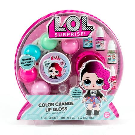 Basic Color Kit - LOL Surprise! Color Change Lip Gloss Kit
