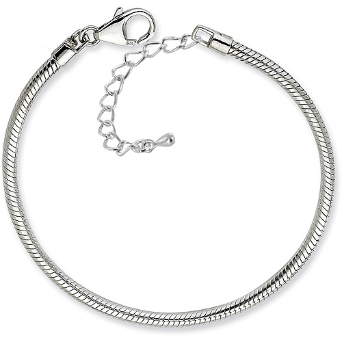 """Pacific Charms Silver-Tone Bracelet, 7.5"""" with 2"""" Extension"""