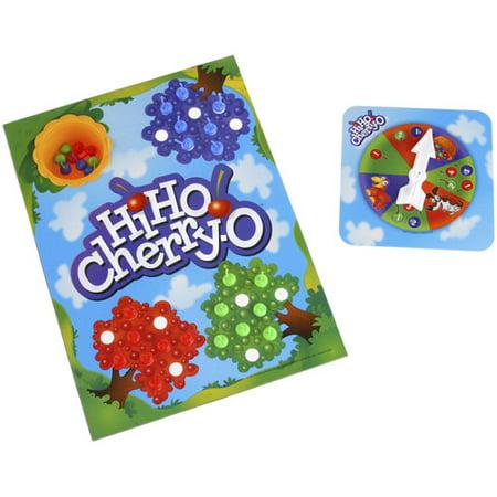 57f0998fbf Classic Hi Ho Cherry-O Kids Board Game, for Preschoolers Ages 3 and up -  Walmart.com