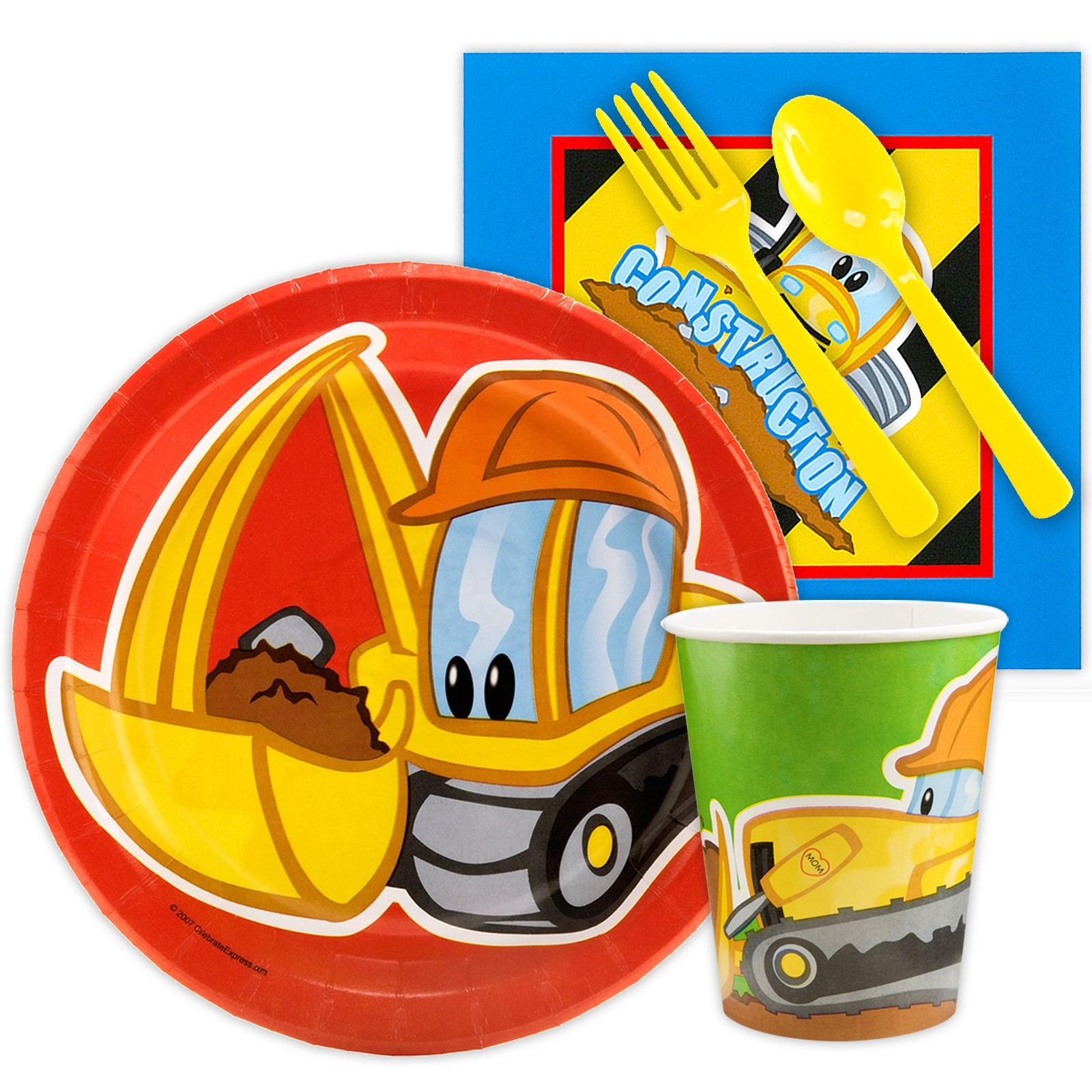 Construction Pals Snack Party Pack
