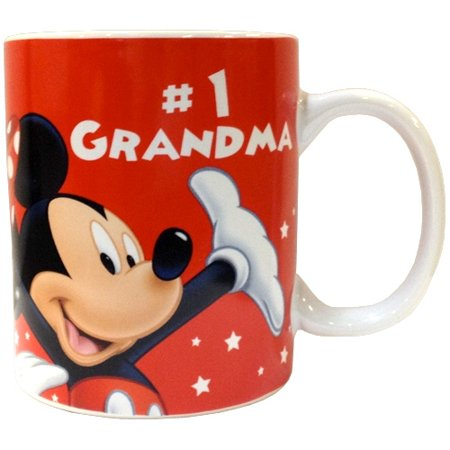 Disney #1 Grandma Mug, 11oz ceramic ()