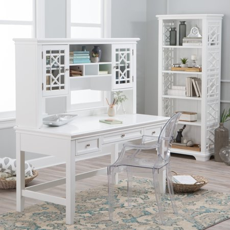 White Desks Hutch - Belham Living Florence Writing Desk with Optional Hutch