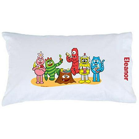 Personalized Yo Gabba Gabba Snack Pillowcase Delectable Yo Gabba Gabba Bedroom Decor
