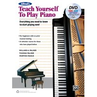 Alfred's Teach Yourself to Play Piano: Everything You Need to Know to Start Playing Now!, Book, DVD & Online Video/Audio/Software (Paperback)