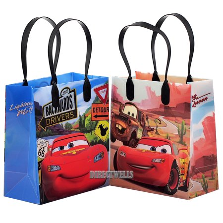 Disney Car Mcqueen Lightning 12 Small  Party Favors Goodie  Gift Bags 6