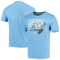 Manchester City Puma DNA T-Shirt - Light Blue