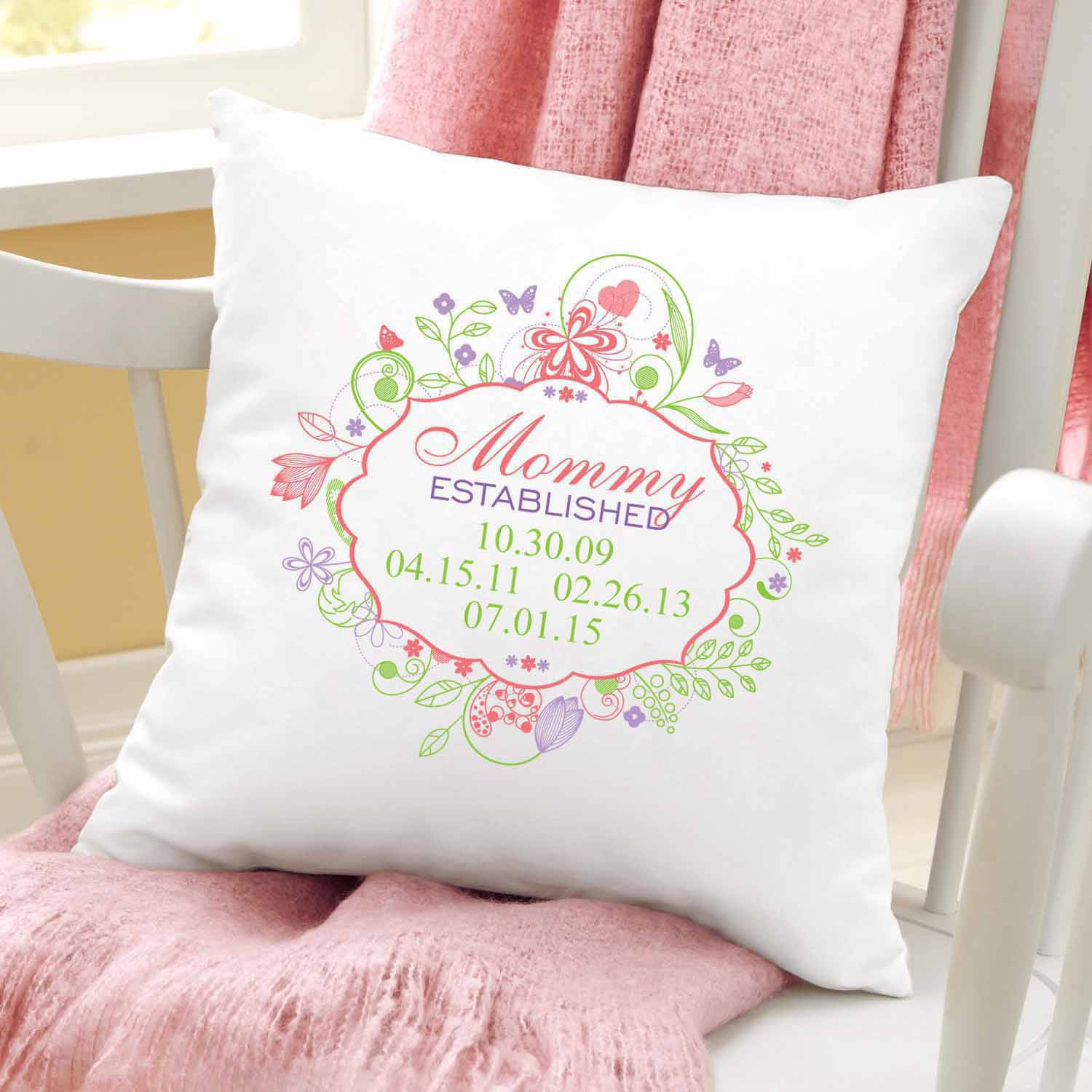 Personalized Established Pillow