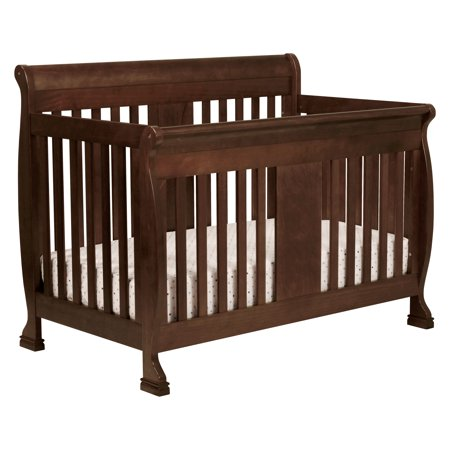 DaVinci Porter 4-in-1 Convertible Crib with Toddler Bed Conversion Kit in Espresso Finish (Crib Toddler Conversion Kit)