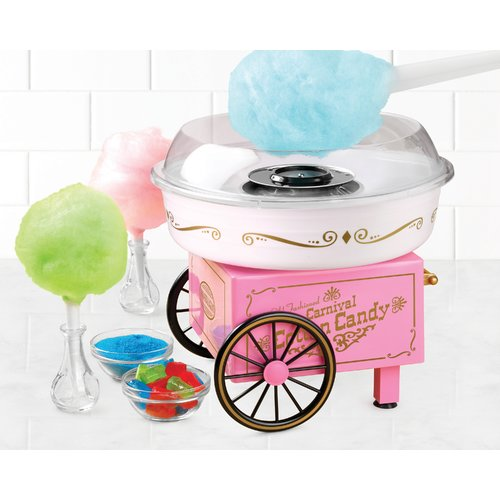 Nostalgia Hard and Sugar-Free Hard Candy Cotton Candy Maker
