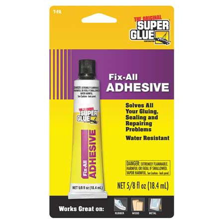 super glue t fa12 fix all adhesive. Black Bedroom Furniture Sets. Home Design Ideas