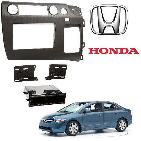 Metra 99-7871 2006 Honda Civic In-Dash CD Player or Navigation Mounting Kit (Cd Player For Honda Civic 2001)